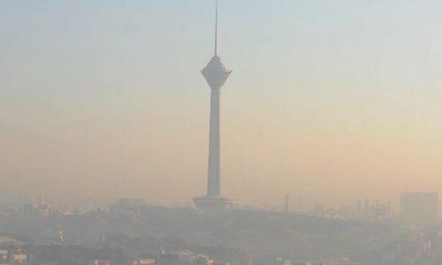 وضعیت سلامت امروز هوای تهران!