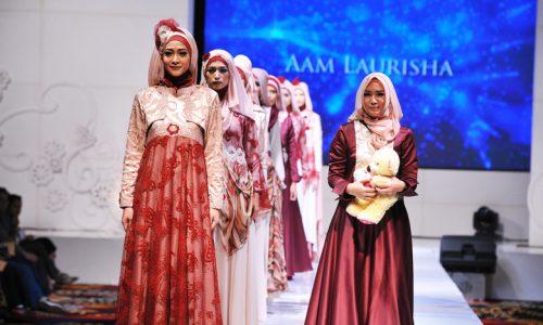 عکس نمایشگاه مد و لباس اسلامی در آمریکا