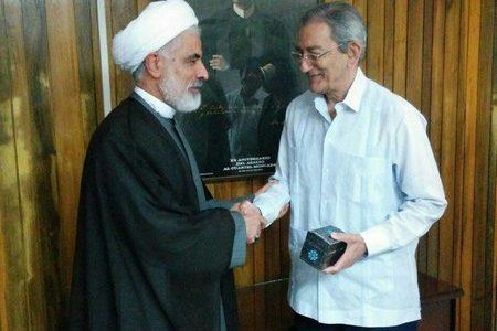 معاون رئیس جمهوری ایران با دبیر حزب کمونیست کوبا دیدار کرد/ کابررا می گوید که به امریکا نمی شود اعتماد کرد