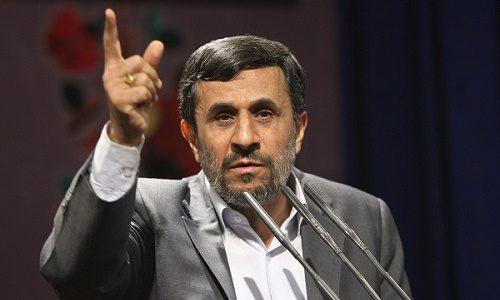 اظهارات متفاوت احمدی نژاد در جمع اساتید دانشگاه