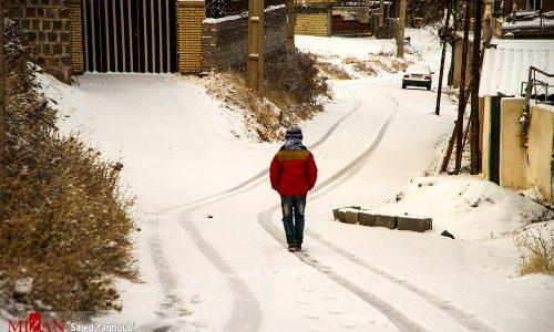 بارش برف و باران در ۲۰ استان از امروز