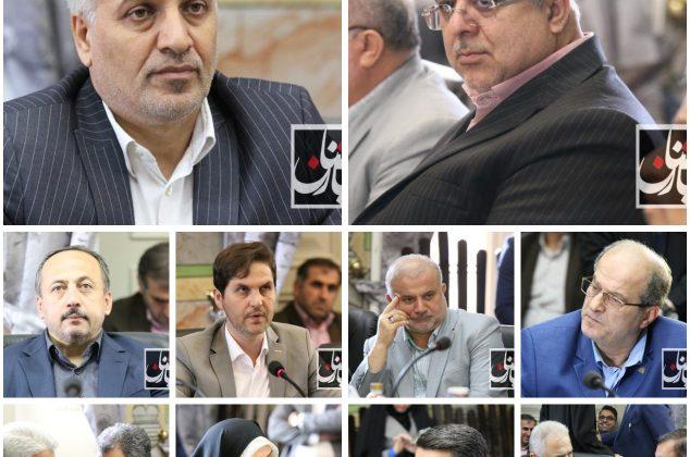 اختصاصی / گزارش تصویری جلسه اعضای شورای شهر و شهردار رشت با نمانیدگان مجلس شهرستان رشت