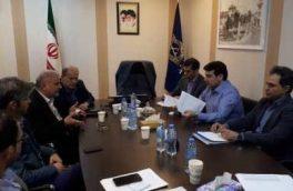 جلسه ی افزایش سطح اجراشدن سیاستهای تشویقی شهرداری منطقه یک رشت برای وصول مطالبات