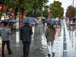 کاهش دما و بارندگی از عصر امروز در گیلان