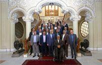 لاریجانی رئیس مجلس :نمایندگان جانباز و ایثارگر افتخاری برای مجلس و کشور هستند/ وحدتی که به واسطه رفتار شنیع آمریکا علیه سپاه ایجاد شد حفظ شود
