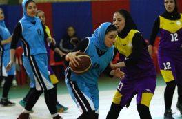 صدرنشینی صومعه سرا در مسابقات بسکتبال لیگ بانوان گیلان