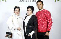 ساره بیات در کنار خواهرش و رضا قوچاننژاد +عکس