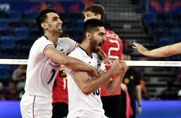 ایران صدرنشین لیگ ملتهای والیبال شد