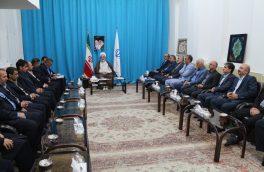 مدیرکل تامین اجتماعی گیلان در دیدار با نماینده ولی فقیه در استان