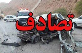۵ فوتی در تصادفات رانندگی