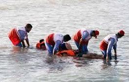 نجات جان ۹ نفر از غرق شدن در خزر