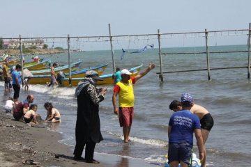 غرق شدن یک گردشگر در ساحل آستارا