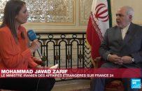 در گفت و گو با فرانس ۲۴؛ ظریف: فشار آمریکا علیه ایرانیان کارساز نیست
