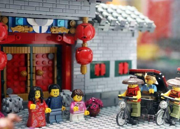 تصاویر : نمایشگاه دیدنی لگو در چین