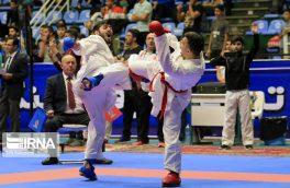 کسب سه مدال توسط کاراتهکاران گیلانی در لیگ وان