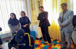 بازدید دکتر حسین نحوی نژاد از مرکز توانبخشی توانخواهان ذهنی سامان و سارا آستارا