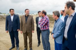 """تاکید در تسریع روند ساخت اسکله """"رو رو"""" مجتمع بندری کاسپین منطقه آزاد انزلی"""