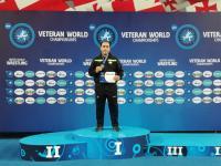 پیشکسوت گیلانی قهرمان مسابقات کشتی فرنگی جهان شد