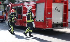 امدادرسانی آتشنشانی رشت در پی محبوسشدن سرنشینان یک خودرو