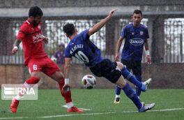 لیگ دسته اول؛ پیروزی داماش برابر سپیدرود در دربی رشت