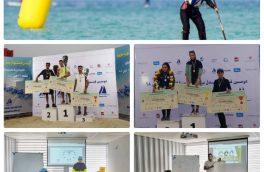 با کسب یک مقام نخست و دو مقام سوم درخشش ورزشکاران مدرسه ورزش های بادبانی مارینا کاسپین منطقه آزاد انزلی در دومین فستیوال پدل بورد کشور