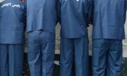 چهار سارق با ۲۲ فقره سرقت در لاهیجان دستگیر شدند