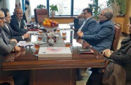 نشست دکتر حسین نحوی نژاد با مدیریت شعب بانک صادرات گیلان