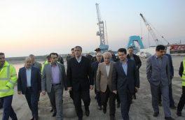 وزیر راه و شهرسازی دربازدید ازبندروراه آهن آستارا: حمل و نقل ترکیبی در دریای خزر توسعه مییابد