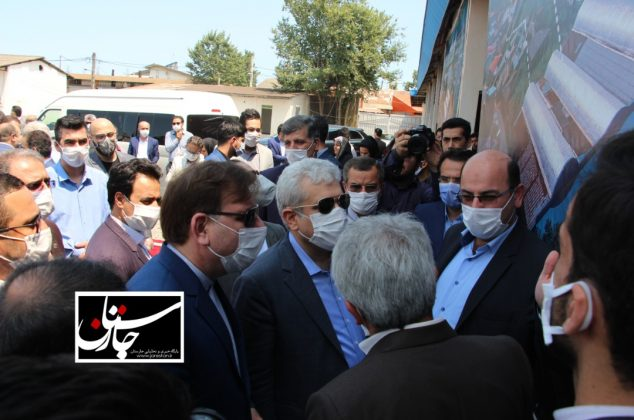 گزارش تصویری برگزاری مراسم آغاز فعالیت کارخانه نوآوری گیلان با حضور دکتر ستاری و استاندار گیلان