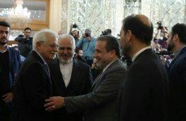 """نامه ظریف به """"بورل"""" برای پایبند نبودن کشورهای اروپایی به برجام"""