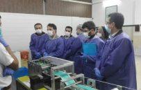 معاون استاندار گیلان در جریان بازدید از یکی از واحدهای تولید ماسک اظهار داشت؛ نیاز مردم به ماسک با افزایش توان تولید داخلی برطرف میشود