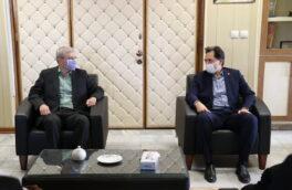 دیدار دکتر حسین نحوی نژاد با مدیرکل امور اقتصادی و دارائی استان گیلان