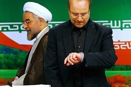 سکوت رئیس مجلس در برابر توهینها حمله به روحانی عملیات فرار به جلو