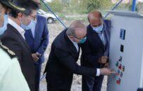 ایستگاه پمپاژ و خط انتقال آب در بندرکیاشهر به بهره برداری رسید