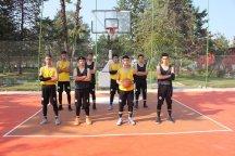 افتتاح سی و هفتمین زمین بسکتبال خیابانی گیلان در رضوانشهر