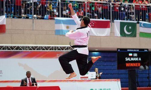 تکواندوکار گیلانی به فینال مسابقات پومسه قهرمانی آسیا صعود کرد