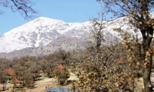 برف کوهستان های املش را سپیدپوش کرد
