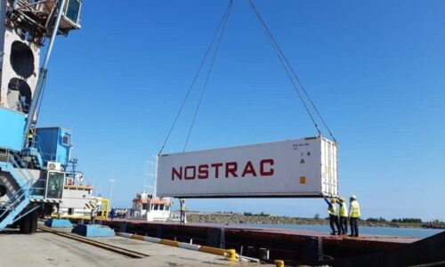ترانزیت کالا از بندر برای کاهش صف کامیونها در مرز زمینی آستارا