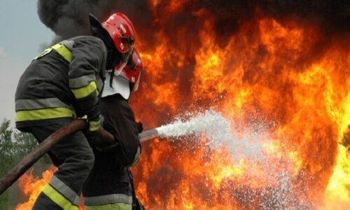 مهار آتشسوزی و تخریب کورههای زغال در آستارا
