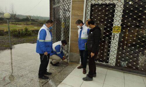 ۱۰ واحد قلیانسرا و کبابسرا در شهرستان تالش پلمب شد