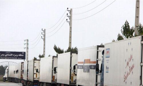 کندی ترخیص کالا و خواب سنگین کامیونها در مرز آستارا
