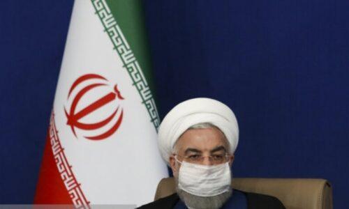 مراسم بهره برداری از ۱۳ پروژه در حوزه حمل و نقل/ روحانی: دولت خبیث آمریکا موجب شد که نوسازی ناوگان حمل و نقل کند شود