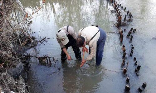کشف دو قبضه سلاح شکاری و تخریب یک سد چوبی (کلهام)