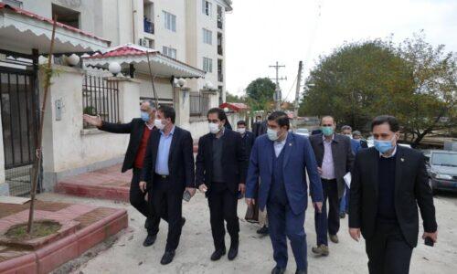 بازدید مدیرکل بهزیستی گیلان از مسکن مهر ماسال