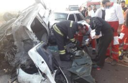 هفت کشته و زخمی در تصادف جاده سراوان