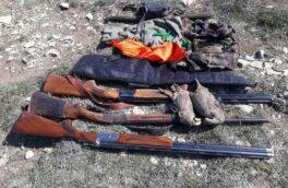 افزایش ۲۰۰ درصدی کشف سلاح غیرمجاز شکار توسط یگان محیط زیست لاهیجان