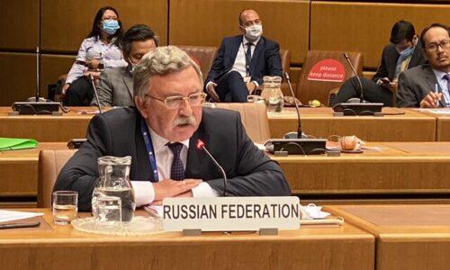 اولیانوف: همه میدانند سیاست فشار حداکثری علیه ایران موفقیت آمیز نبود