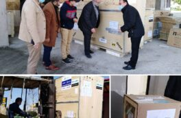 خبر خوش به مردم شهرستانهای صومعه سرا و لنگرود؛ تحویل دو دستگاه CT اسکن ۱۶ اسلایس به بیمارستانهای صومعه سرا و لنگرود