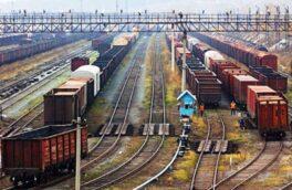 صادرات کالا از پایانه ریلی آستارا ۵۲ درصد رشد یافت
