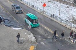 استاد ایرانی دانشگاه کانادایی برای عبور و مرور دانشجویان،اتوبوس خودران ساخت